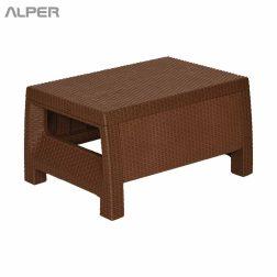 میز - میز حصیری - میز فضای باز