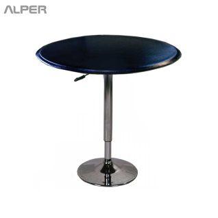 میز بار جک دار میز کافی شاپی - آلپر فروشگاه اینترنتی مبلمان و دکوراسیون هتل، تالار، رستوران و کافی شاپ