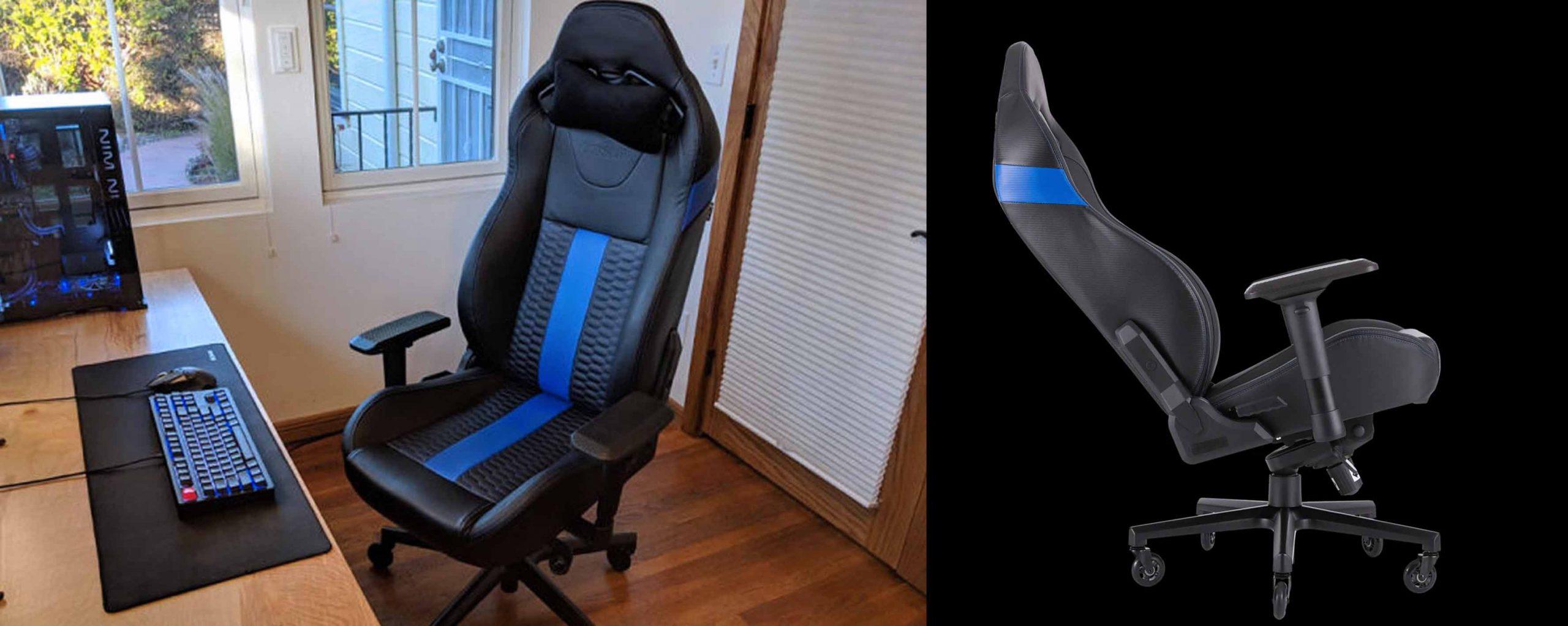 gaming chairs  - صندلی های بازی - تاریخچه-و-کاربرد-صندلی-های-گیمینگ---صندلی-گیمینگ---صندلی-بازی---Corsair-T2-Road-Warrior---gaming-chair---1 - Corsair T2 Road Warrior