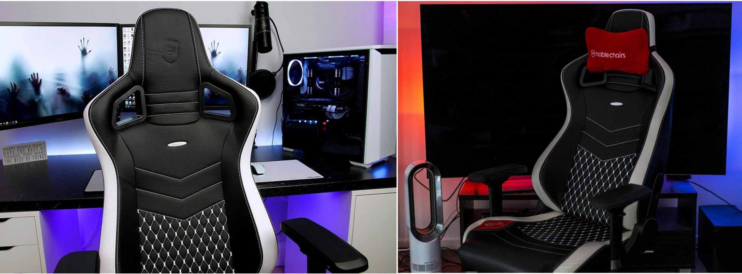 gaming chairs  - صندلی های بازی - تاریخچه-و-کاربرد-صندلی-های-گیمینگ-صندلی-گیمینگ-صندلی-بازی-Noblechairs-Epic-Real-Leather-gaming-chair-1-