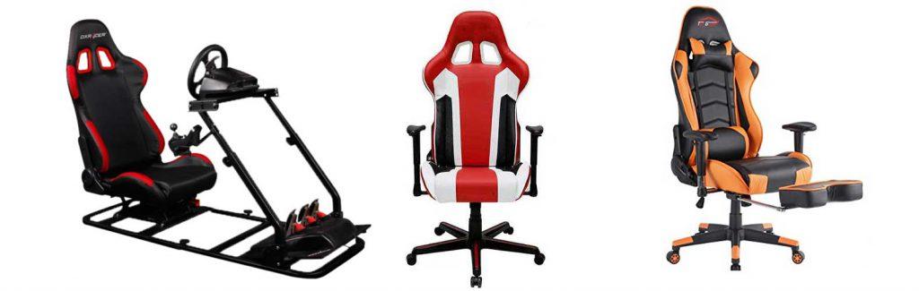 gaming chairs - gaming chair  - صندلی های بازی - صندلی گیمینگ - صندلی بازی - کاربرد - تاریخچه - انواع صندلی گیمینگ -