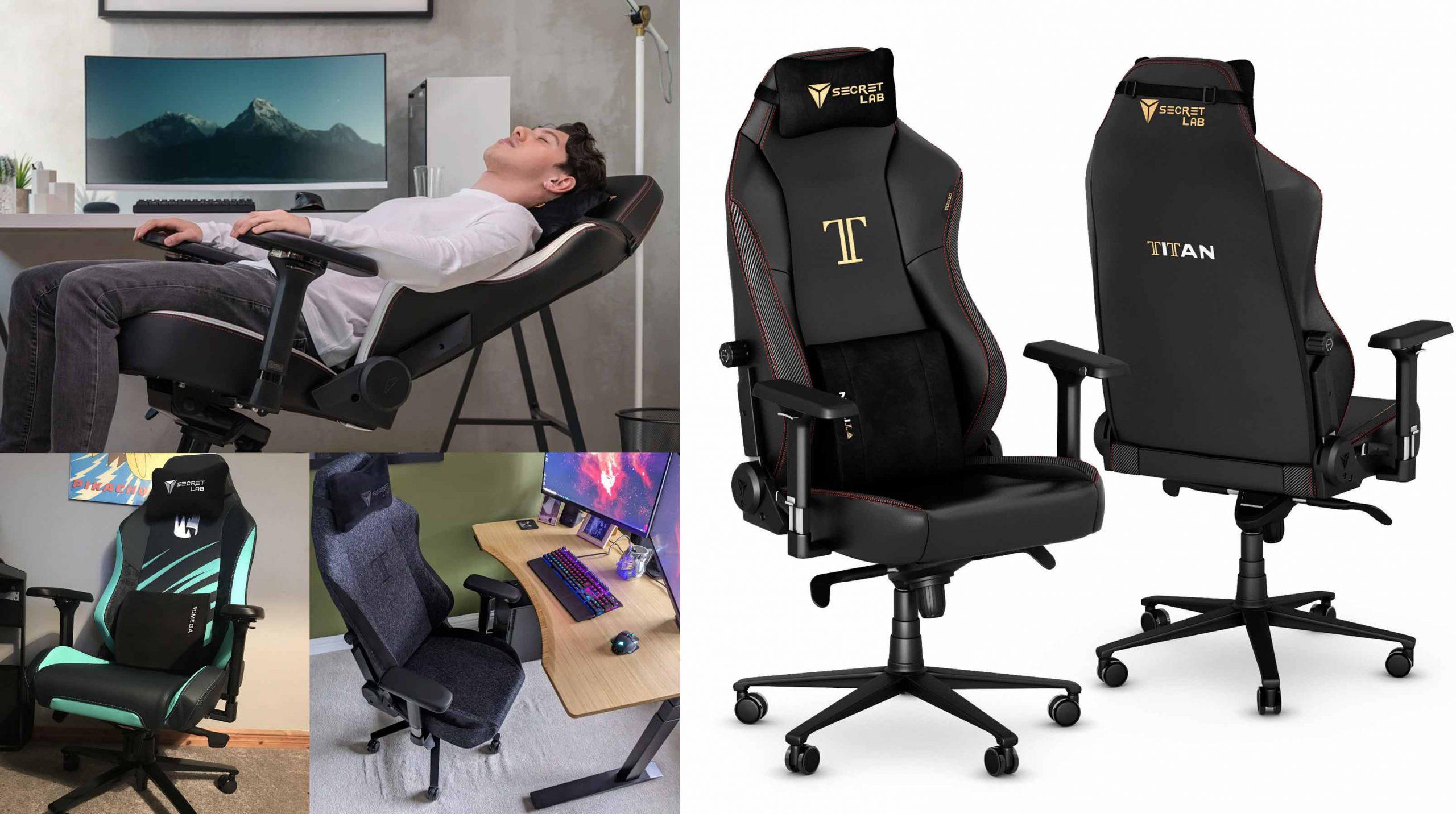 gaming chairs  - صندلی های بازی - secretlab titan gaming chair - تاریخچه-و-کاربرد-صندلی-های-گیمینگ-صندلی-گیمینگ-صندلی-بازی-secret-lab