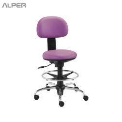 صندلی اداری - صندلی تابوره - صندلی آزمایشگاهی - آلپر فروشگاه اینترنتی مبلمان و دکوراسیون هتل، تالار، رستوران و کافی شاپ