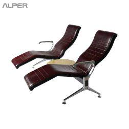 صندلی انتظار - صندلی اداری - صندلی انتظار فرودگاهی - صندلی فرودگاهی - صندلی فرودگاهی دونفره با رابط