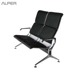 صندلی - صندلی اداری - صندلی انتظار - صندلی دسته دار - صندلی فرودگاهی - صندلی فرودگاهی دونفره - صندلی دونفره فرودگاهی - صندلی انتظار فرودگاهی دونفره