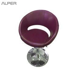 صندلی کافی شاپی چرمی - صندلی - صندلی کافی شاپی - coffeeshop chair - outdoor chair - chair - open chair - stoolbar - صندلی اپن - صندلی کانتر - صندلی پیشخوان - صندلی فضای باز