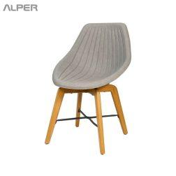 صندلی رستورانی پایه چوبی - صندلی رستورانی - صندلی رستوران - صندلی - صندلی آشپزخانه - صندلی کافی شاپی