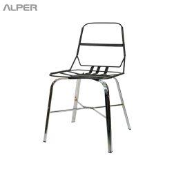 صندلی رستورانی - صندلی رستورانی پایه فلزی - صندلی رستورانی - صندلی رستوران - صندلی - صندلی آشپزخانه - صندلی کافی شاپی