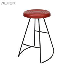 چهارپایه - صندلی - صندلی کافی شاپ - صندلی کافی شاپی - صندلی کانتر - صندلی پیشخوان - صندلی اپن - صندلی آشپزخانه - VHN-1700iL - چهارپایه کافی شاپ