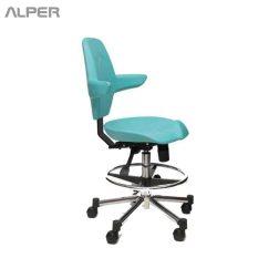 صندلی تابوره دندانپزشک - صندلی دندانپزشک - صندلی پزشک - صندلی پزشکی - صندلی دندانپزشکی - صندلی - صندلی اداری - صندلی گردان - صندلی تابوره - صندلی آزمایشگاهی - صندلی