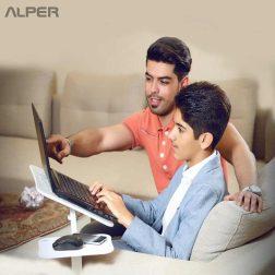 میز حرفه ای لپ تاپ - میز لپ تاپ - میز حرفه ای - میز لپ تاپ حرفه ای - میز لپ تاپ کول پد دار - میز حرفه ای لپ تاپ بدون کول پد - پرو تیبل - پروتیبل - protable