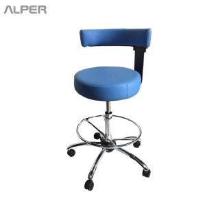 صندلی تابوره - صندلی آزمایشگاهی - صندلی پزشکی - صندلی دندانپزشک - صندلی آزمایشگاه - صندلی چرخ دار آزمایشگاهی پزشکی