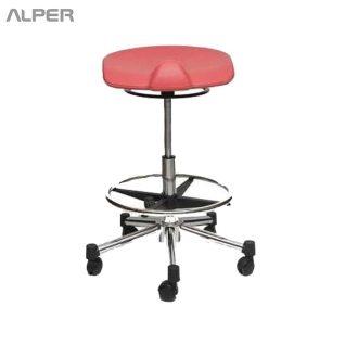 صندلی پزشکی گردان - صندلی تابوره - صندلی آزمایشگاهی - صندلی پزشکی - صندلی دندانپزشک - صندلی آزمایشگاه - صندلی چرخ دار آزمایشگاهی پزشکی