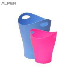 سطل پلاستیکی سطل زباله پلاستیکی - آلپر فروشگاه اینترنتی مبلمان و دکوراسیون هتل، تالار، رستوران و کافی شاپ