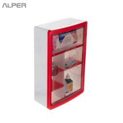 جعبه کمکهای اولیه - جعبه فلزی کمک های اولیه - آلپر فروشگاه اینترنتی مبلمان و دکوراسیون هتل، تالار، رستوران و کافی شاپ